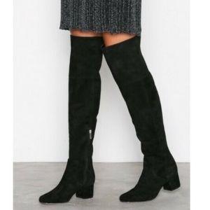 Sam Edelman Elina Over The Knee Boots Black